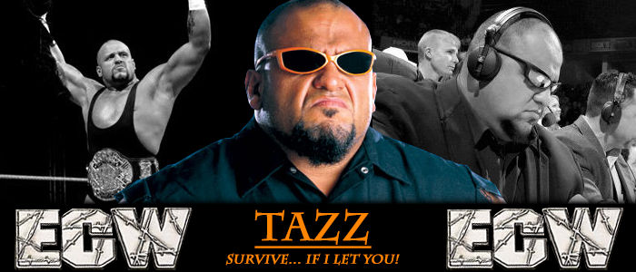 WRESTLING BANNERS: 26. Tazz