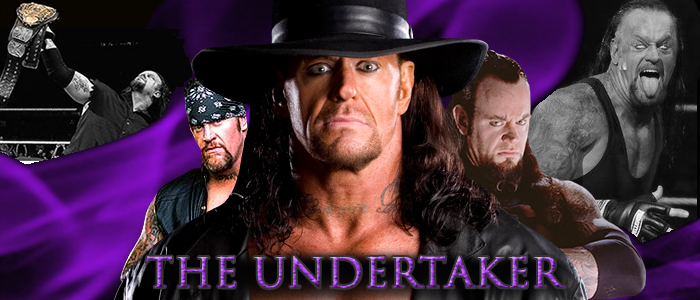 WRESTLING BANNERS: 27. The Undertaker