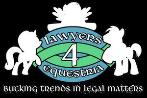 Lawyers4Equestria Logo
