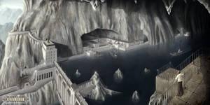 Mountain City Dam by Roseum