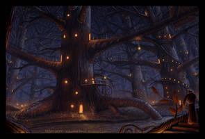 Big-Tree Village by Roseum