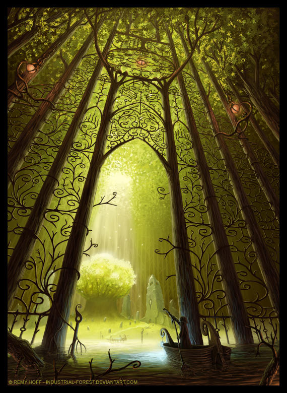 Entrance To The Sacred Tree by Roseum on DeviantArt