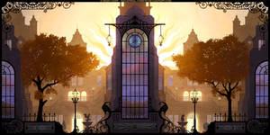 Mansion Yard by Roseum