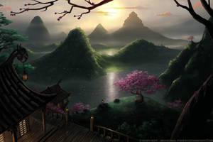 Rising Sun by Roseum