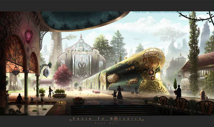 Train To Botanica by Roseum