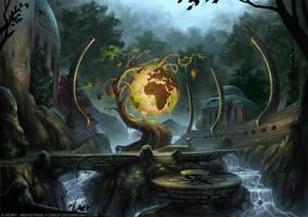 The Globe Tree by Roseum