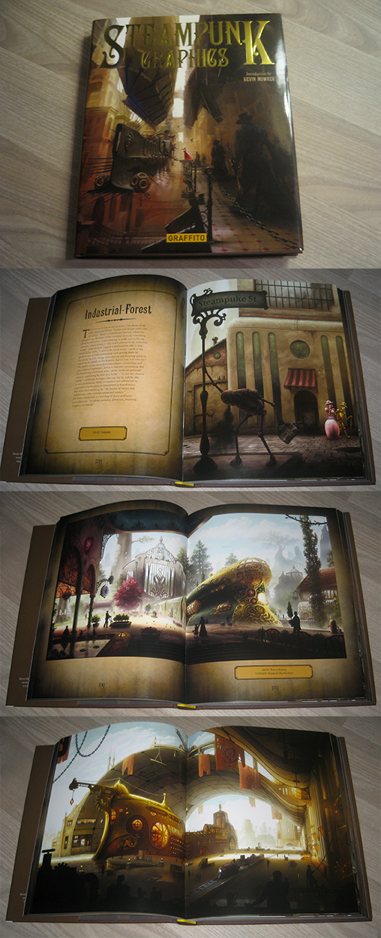 SP Graphics book by Industrial-Forest
