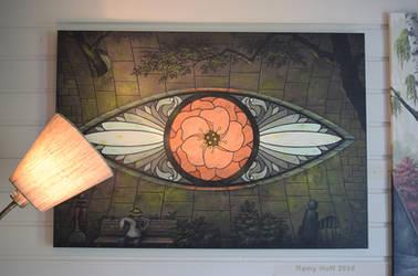 florEYE on the wall