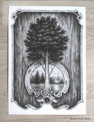 Tree lake.