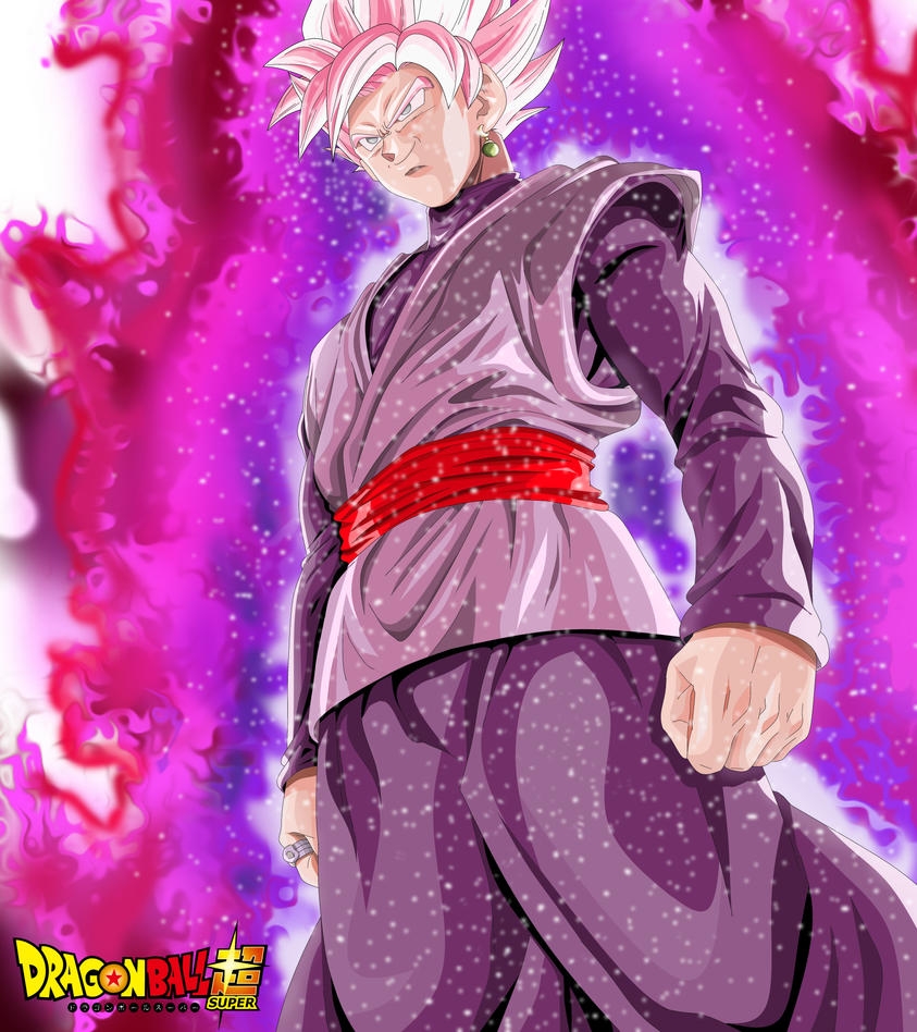 Dragon Ball Super Wallpaper 1080p Full Size: Black Goku Super Saiyan Rose By Jazeero On DeviantArt