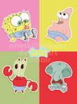 Baby Spongebob Poster