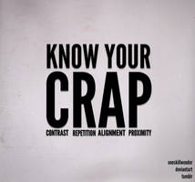 CRAP by oneskillwonder
