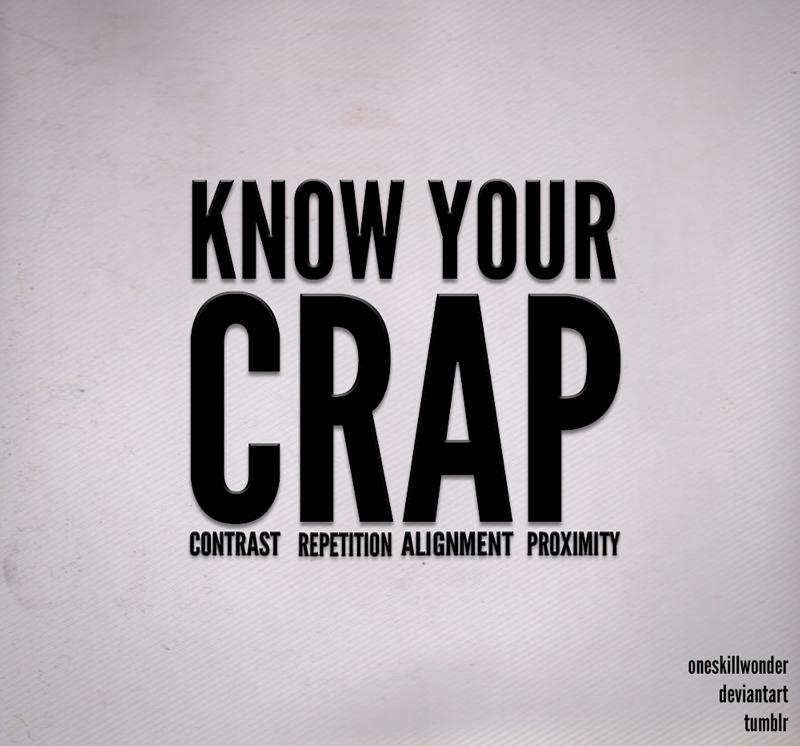 CRAP by oneskillwonder