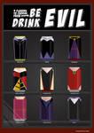 Be Evil, Drink Evil - Female Disney Villains Soda