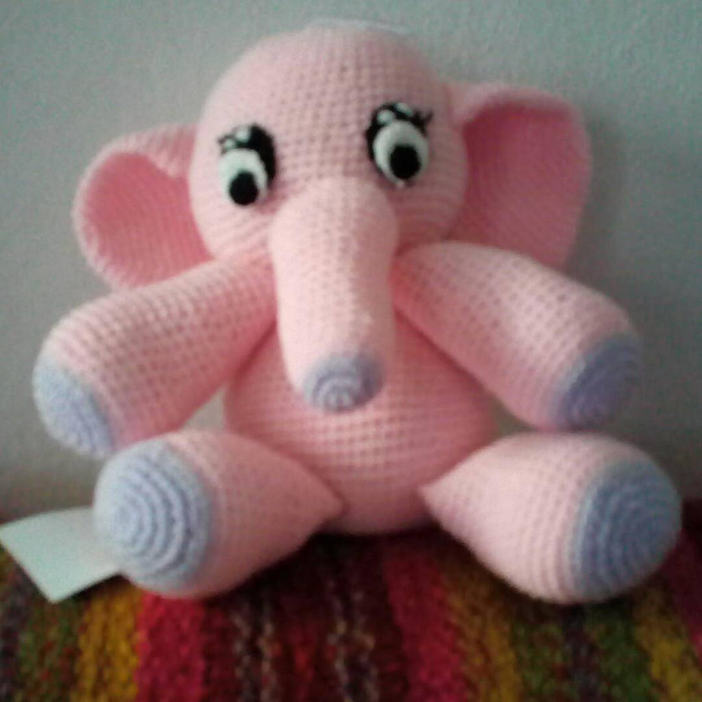 Baby Elephant Amigurumi Crochet Pattern PDF Doll not included ... | 1024x1024