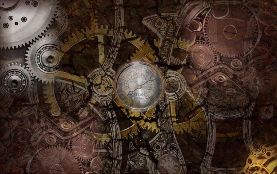 steampunk wallpaper v2