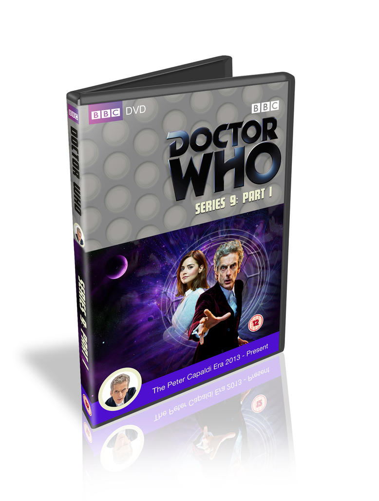 Capaldi S9 Dvd cover in the classic style by colgreyis