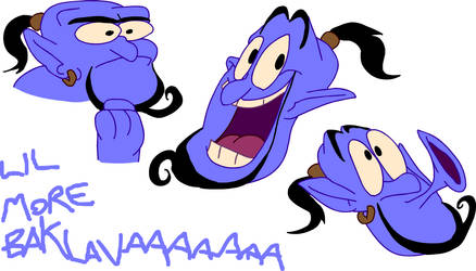 The Aladdin Genie by SuperLooneyDude