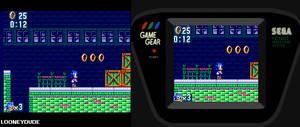 Sonic Mania: Press Garden 8-bit Version