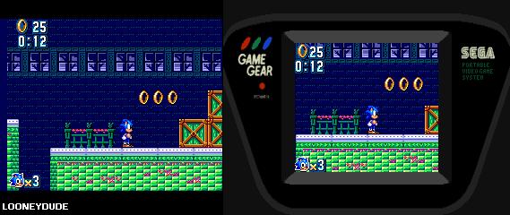 Sonic Mania: Press Garden 8-bit Version by SuperLooneyDude