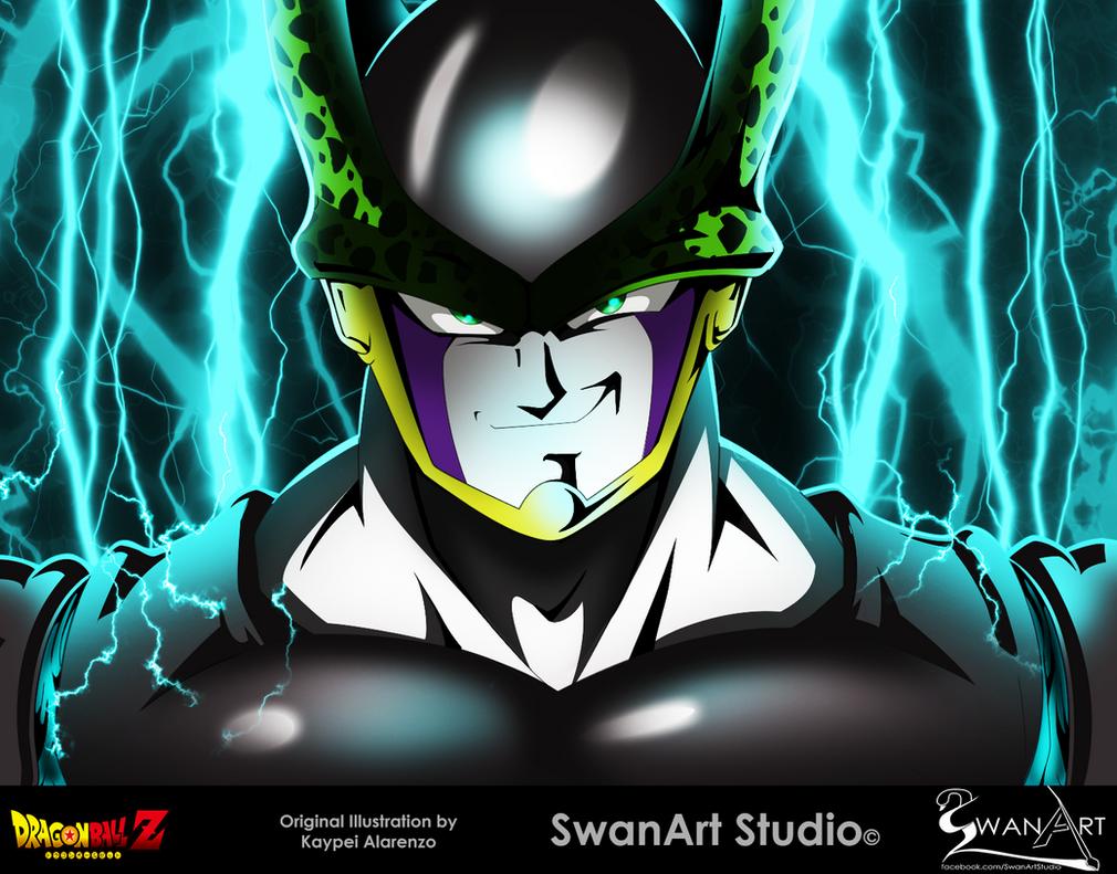 Cell - Dragon Ball Z by SwanArtStudio