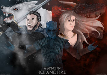 A Song of Ice And Fire - GAME OF THRONES by SwanArtStudio