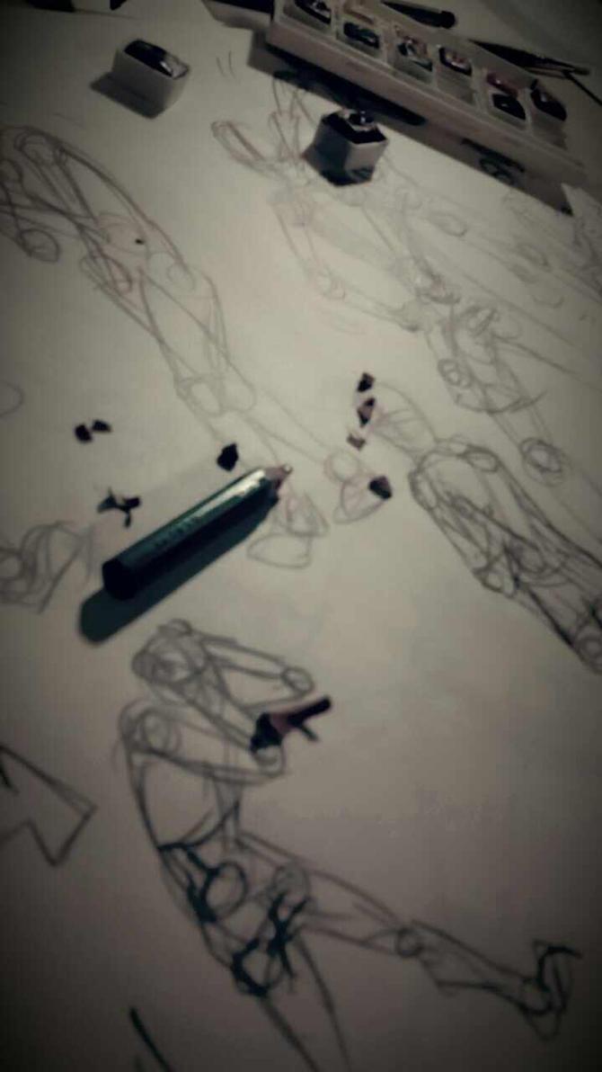 artistic struggle by NightBringer795