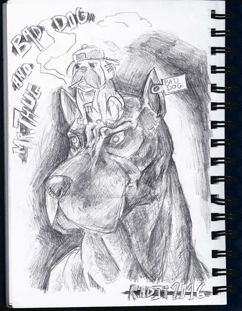 THUG PUG by NightBringer795