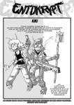 Carte personnage: Kiki by Radji-Le-Dessinateur