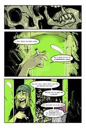 Stigma Maleficum Page 1 colored