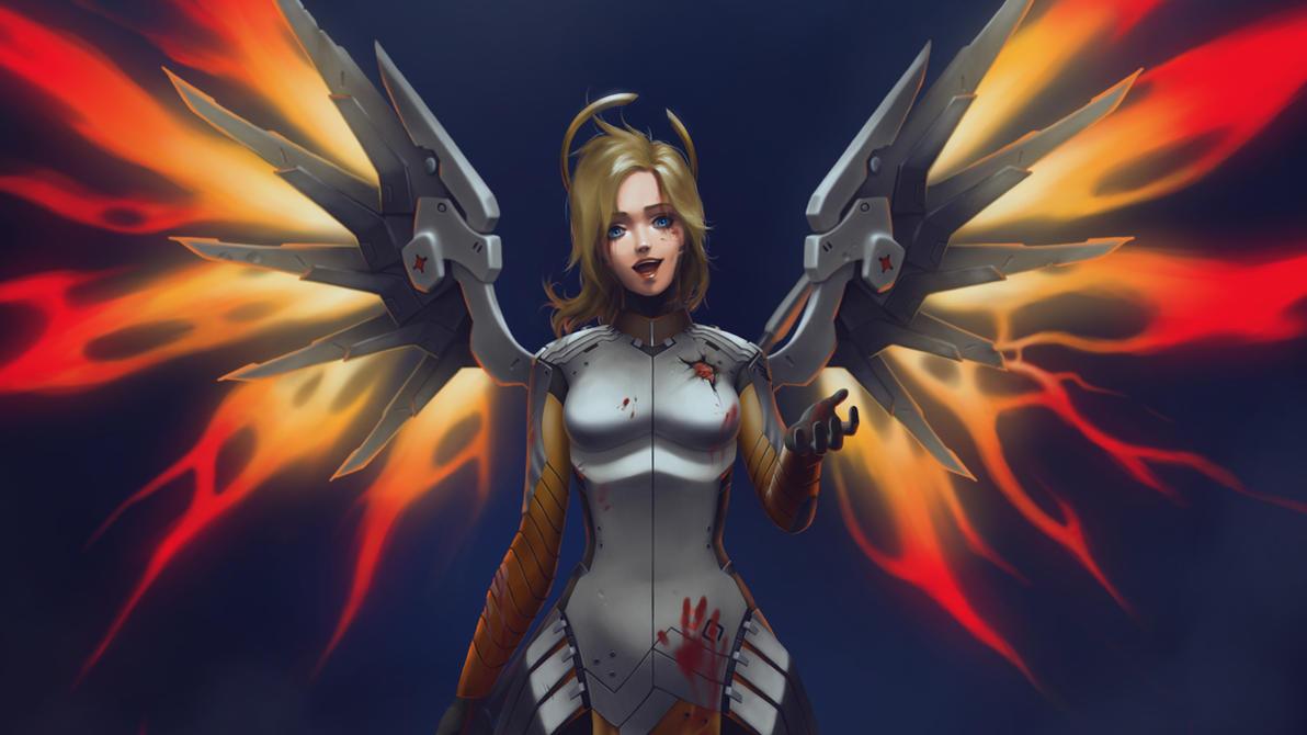 No Mercy 1366 x 768 Desktop Wallpaper by ArtmanceR