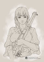 Final Fantasy XIV NPC Joye by Artmancer