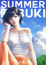 Fubuki Summer Fan Art