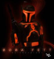 Boba Fett Tron by seanprodi