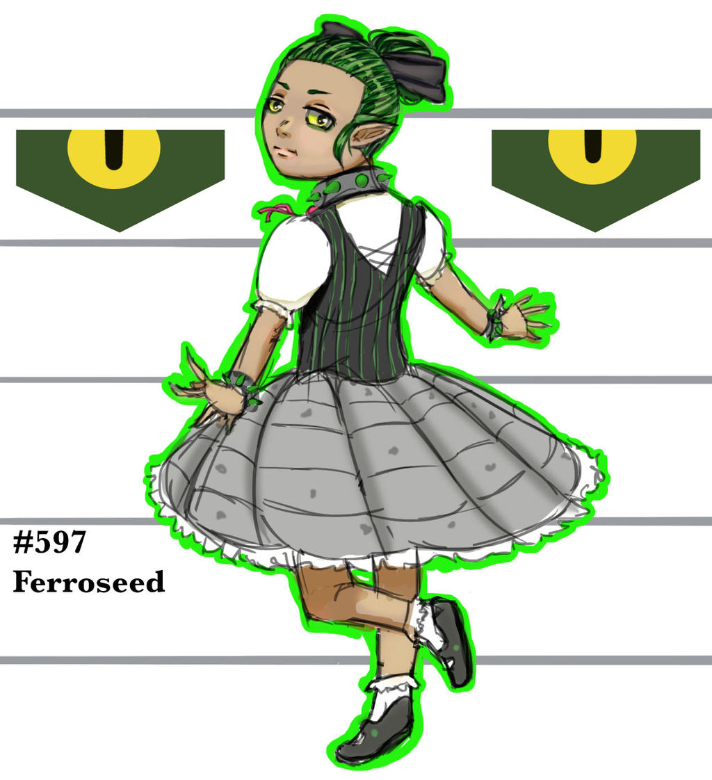 Aria the Ferroseed by ArousingSoul