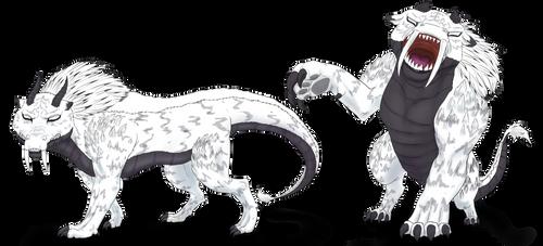 Commission: Lighting Beast
