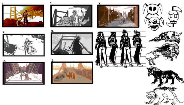 Wraith sketch ideas