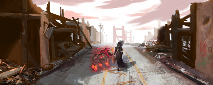 Commission: Wraith Walker