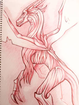 Shreads, the Dragon.