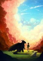 HTTYD2 - Beyond The Clouds by yakusokudayo
