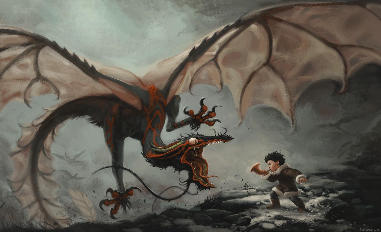 The Dragon Call by Nousheka