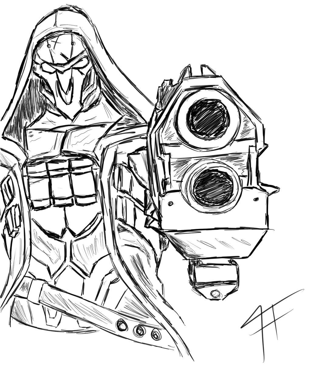 overwatch reaper by didpul on deviantart