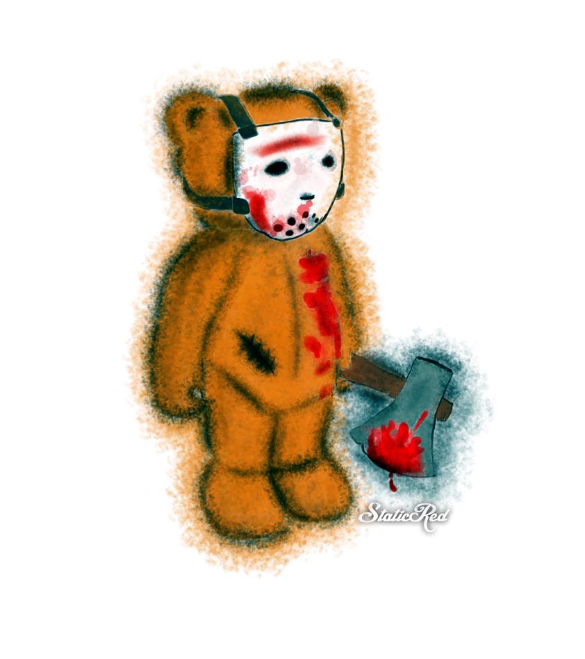 Jason's Teddy V2 by StaticRed
