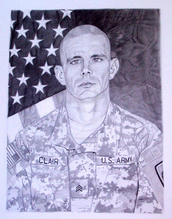 Sgt. Clair by Bluegirl1072