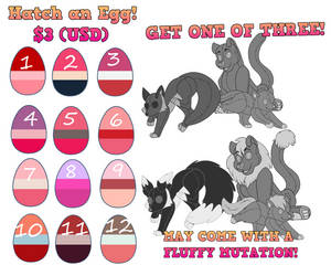 $3 Limited time Valentines Adopts