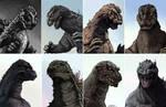 The Evolution of Godzilla
