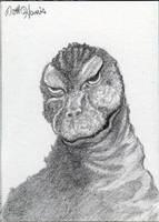 Godzilla '64 by monsterartist