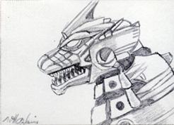 Kiryu by monsterartist
