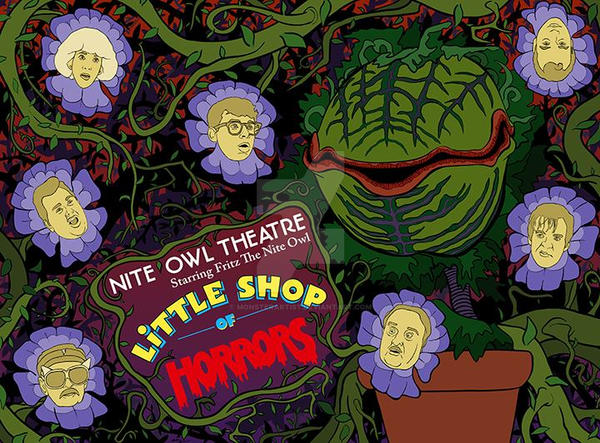 Little Shop of Horrors by monsterartist