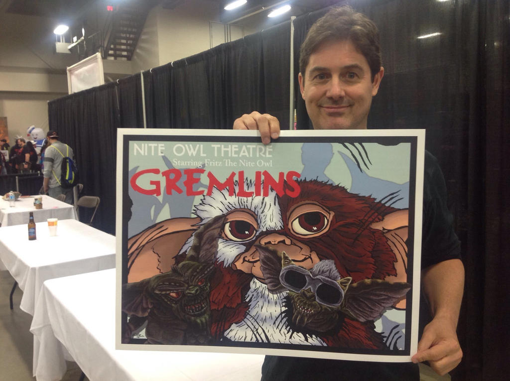 My Work at HorrorHound Weekend #2 by monsterartist